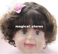Wholesale Infants and children clothing baby one hundred days baby photography props wigs wig model photo studio ET03