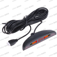 Wholesale LLFA3015 colors Car parking Sensor LED Parking Reverse Backup Radar System with Backlight Display Sensors
