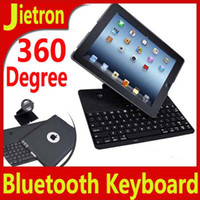 Wholesale Bluetooth Keyboard for New iPad Cover Stand Case with Degree Rotatable Swivel Wireless keypad