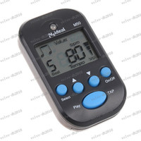 Wholesale LLFA3016 LCD Digital Clip Beat Tempo Mini Metronome White Black for Piano Guitar Accessories with Retail Package Free Drop Shipping