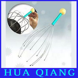 Wholesale 6058 Head massager soothing nerves muscle relaxation octopus head massager
