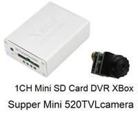cctv super dvr - 1CH HD Super Mini TVL Mini XBOX DVR Recorder High resolution CCTV Button camera with Night Vison DMC900A H983
