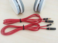 Wholesale High Quality m mm mm Male to Female Solo Studio Car Aux Audio Extension Cable for Monster Beats