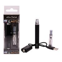 Electronic Cigarette Set Series  eGo-c Twist blister kit Ego CE4 kit E CIG vapor atomizer starter electronic cigarette 1100mah 900mah 650mah variable battery 3.2V to 4.8V
