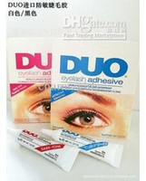 Wholesale NEW DUO WATER PROOF EYELASH ADHESIVE EYELASH GLUE CLEAR g
