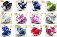 Wholesale baby first pre walk shoes infants soft bottom toddlers shoes size cm
