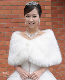 Wholesale Beautiful Bead Faux Fur GK Wedding Bridal Wrap Shawl Retail IVORY COLOR STANDARD SIZE ONLY PJ001