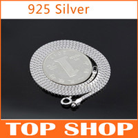 Wholesale HOT Sterling Silver Necklace For Men Inch CM