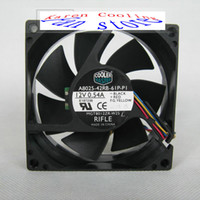 Wholesale CoolerMaster A8025 RB P P1 MGT8012ZR W25 V A CM PWM UPS Cooling Fan