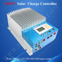 Wholesale 60A eTracer ET6415 MPPT Solar Charge Controller amps ET6415N V V V V EP Solar Battery Charge Controller Regulators