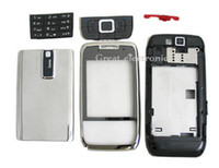 Wholesale 20pcs e66 housing case Full replacements case repair parts for Nokia E66 mobile phone