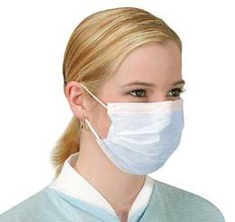 Wholesale x Anti Virus Swine Flu Surgical Face Masks with earloops surgical face mask medical face mask