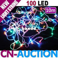 Christmas auction light - m LED Light String Colourful Christmas Lights Holiday Decoration Lamp CN LSL3 Cn Auction Lighting