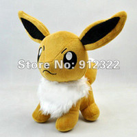 Wholesale High quality Eevee Animal Plush toy and Retail Christmas gift cute carton toy