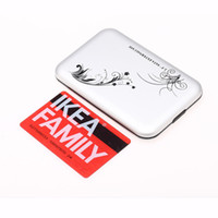 "2.5'' Aluminum 480Mbps Nice Mini USB 2.0 2.5"" SATA External HDD HD Hard Drive Disk Enclosure Box case"
