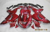 abs plasma - Factory seller Ninja ZX R For Kawasaki Ninja ZX10R fairing kit Candy Plasma Red Race Bike Fairings