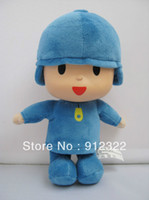 Wholesale New bandai plush Pocoyo Soft Plush Stuffed Figure Toy Doll inch cm