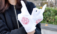Teddy Bear bears gloves - Anime Fullmetal Alchemist Cosplay Gloves Costume Colonel Roy Mustang Edward Elric Mittens Accessories
