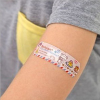 Wholesale New Arriving Health Care Korean version of the outdoor essential cartoon lovely type medical grade adhesive plaster bandage