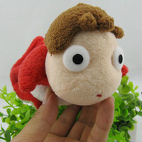 plush sea animals - Cut New Ponyo Stuffed Plush Toy Ponyo on the Cliff by the Sea Soft Animals Toys for girls