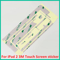 Wholesale 200pcs New iPad M Touch Screen Digitizer Frame Adhesive Glue Tape Sticker Applied Touch Screen M Stickers