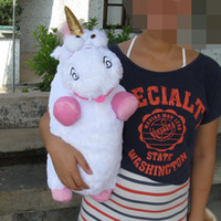 Wholesale Hot sale fashion cute quot New Despicable Me Unicorn Lovely Soft Plush Toy Doll Large