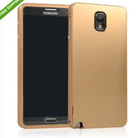 Metal For Samsung For Christmas -thin Metal Aluminum Cover Case for Samsung Galaxy note III 3 N9000
