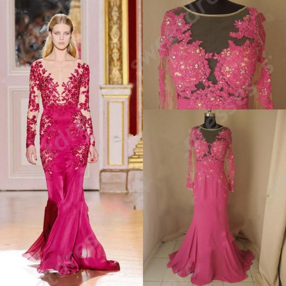Zuhair Murad Pink Wedding Dress Price 73