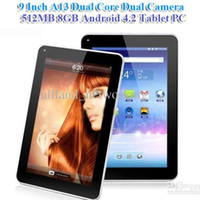 Wholesale 5 DHL quot Inch Allwinner A20 Tablet PC Dual Core Android Dual Camera Capacitive Screen MB GB GHZ WIFI Inch Tablets IRULU