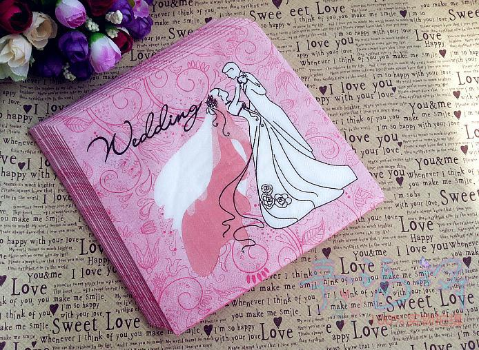 Wedding Gift List Virgin Holidays : 100% Virgin Wood Serviettes Paper Napkins,Serviette Wedding Party Gift ...