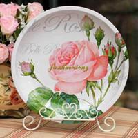 Wholesale D angleterre rose iron sheet the plate wheel single plate rack
