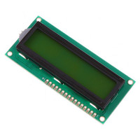 Wholesale Character LCD Module Display X2 lines characters Yellow Green Blacklight Drop Shipping