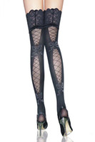 Wholesale sexy lastest lace top sheer stockings sexy hosiery fashion stockings new design factory price wholesaler china