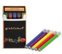 Electronic Cigarette Set Series Red E-Shisha Pen Disposable electronic cigarettes e-shisha e-hookah E-Shisha colorful ESHISHA pen 500 puffs E-Smoking pen