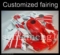 Comression Mold For Honda CBR600 F4i Customized moto fairing ABS Fairing For Honda CBR600 F2 1991-1994 CBR600 RR F2 91 92 93 94 CBR 600 F2 1991 1994 red white ABS Plastic kit