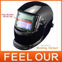 Wholesale welder cutting machine for eye protection Solar Powered Auto darkening Mig Tig Mag welding Helmet cap Mask