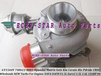2005 740611-5003S 740611-5001S 782403-5001S Hyundai Getz Matrix/KIA Cerato Rio GT1544V 740611-5003S 740611 782403-5001S 740611-5002S 28201-2A400 Turbocharger For Hyundai Getz Matrix KIA Cerato Rio 1.6L D4FB D4FA 1.5L