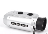 Wholesale Digital Pocket x Golf Range Finder Golf Scope Golfscope Yards Measure Distance with Soft Case