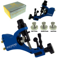 Wholesale Pro Rotary Tattoo Machine Gun Stigma Bizarre V2 with Stroke Excenter Blue Color