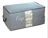 Wholesale freeshipping cloth quilt bamboo bra storage box small best selling cheap storage bag