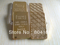Wholesale Credit suisse Fine gold bullion plated High Quality metal bullion bar laser number randomly