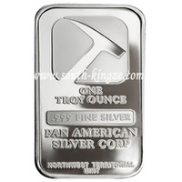 fine clothing - Pan American corp bar wholesales oz Fine Silver Clad plated silver bullion silver souvenir bar