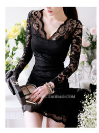 Wholesale Good quality plus size brand new woman slim lace sexy mini skirt party runway evening dress Nightclubs zentai dress