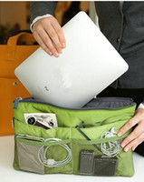 Beverage hand compression bag - multifunctional ipad laptop bags Storage bag in bags organizer makeup cosmetic bags hand bags handbags