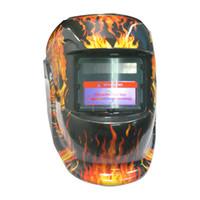 Wholesale New Pattern Solar Auto Darkening Welding Helmet Arc Mig Tig Mma Arc Mag Mask
