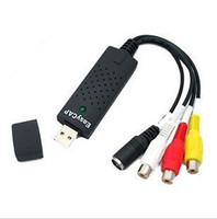 Wholesale DHL EasyCAP Perfectly Simple Channel Video Capture USB DVR DC60 support bit no retail box