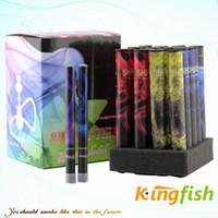 Wholesale Kingfish Electronic Cigarette E Cigarette puffs E shisha pens Dispoable E Cigarette Hookah Rich flavored e cig ego cigarette high quality