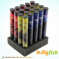 Electronic Cigarette Set Series 280mAh Kingfish Smoking Cessation Electronic Cigarette 600puffs E-shisha pen Hookah Rich flavored,e cig ego cigarette,Dispoable E Cigarette