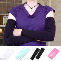Wholesale S8Q Pairs UV Sun Protection Outdoor Sports Cover Cooling Fashion Arm Sleeves By DHL AAAAKY