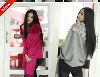 Wholesale Gorgeous Evening Wraps Rabbit Fur Wrap Cape Shawl Jackets coat wrap tippet Party Wraps